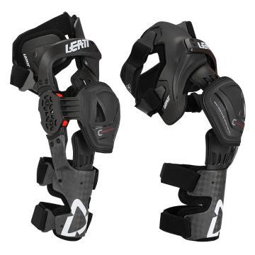 Leatt Knee Brace C-Frame Pro Carbon - Pair - Black