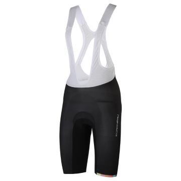 Louis Garneau Women's Course LGneer Race Bib Short - Black/Pastel