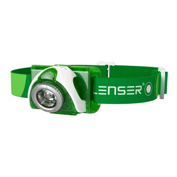LED Lenser  SEO 3 Headlamp - 90 Lumens - Green