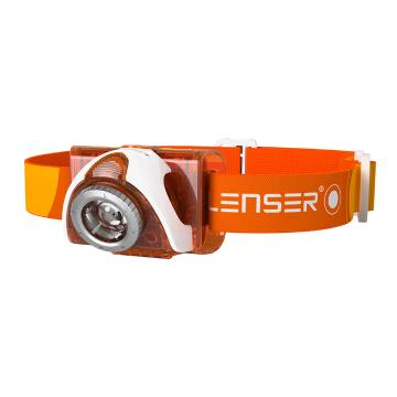 LED Lenser  SEO 3 Headlamp - 90 Lumens - Orange