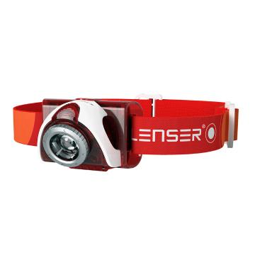 LED Lenser  SEO 5 Headlamp - 180 Lumens - Red