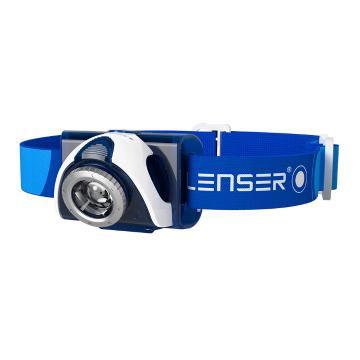 LED Lenser  SEO 7R Headlamp - 220 Lumens - Blue