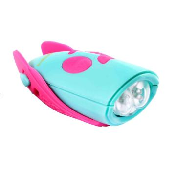 Mini Hornet Mini Hornit Horn & Bike Light - Pink/Turquoise