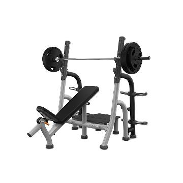 Matrix Fitness Matrix Magnum Olympic Incline Bench