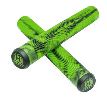 MADD MFX 180 mm TPR Scooter Grips - Green