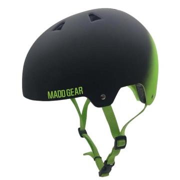 MADD ABS Helmet - Green/Black Fade