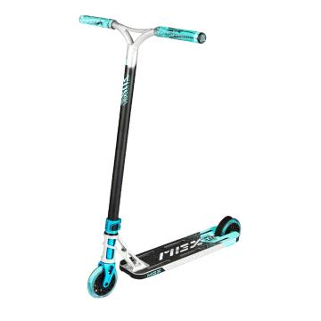 MADD MGX E1 Scooter - Silver/Teal - Silver/Teal