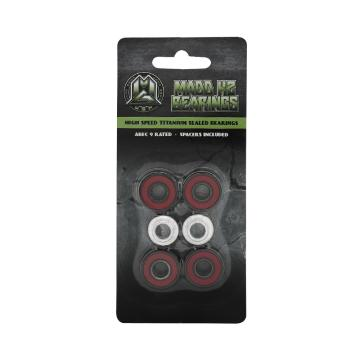 MADD Bearings K2 - Set Of 4 - Red