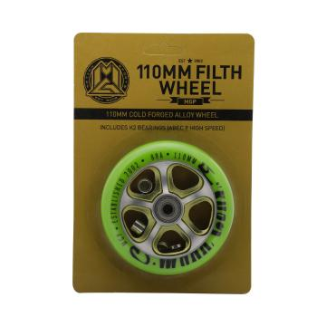 MADD 110mm Team Alloy Scooter Wheel - Green