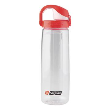 Nalgene On The Fly Bottle - 650ml - Clear Red Cap