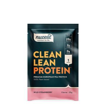 Nuzest Clean Lean Protein 25g Sachet - Wild Strawberry