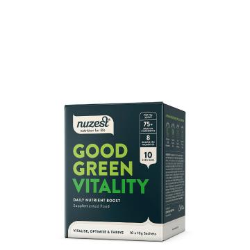Nuzest Good Green Vitality 10x10g Sachets - Original