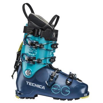 Tecnica Women's Zero GTour Scout W Ski Boots - Ocean Blue Bird