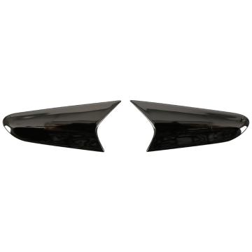 One Industries Trooper Side Vent Cover Front - Black/Chrome