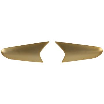 One Industries Trooper Side Vent Cover Front - Gold