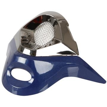 One Industries Trooper Mouth Vent - Dark Blue/Black Chrome
