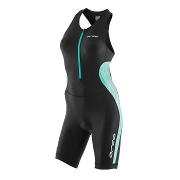 Orca Women's Core Racesuit - Black/Mint