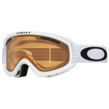 Oakley O Frame 2.0 PRO XS Goggles - Matte White/Persimmon