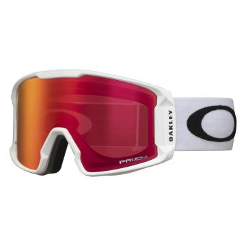 Oakley LineMiner Snow Goggles - Matte White w/Prizm Torch