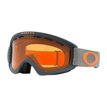 Oakley 2019 O Frame 2.0 XS Goggles - DarkBrush Org w/Persimmon