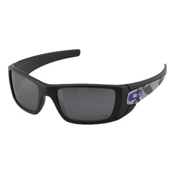 Oakley HI Fuel Cell Sunglasses - Matte Carbon Camo w/Black Iridium