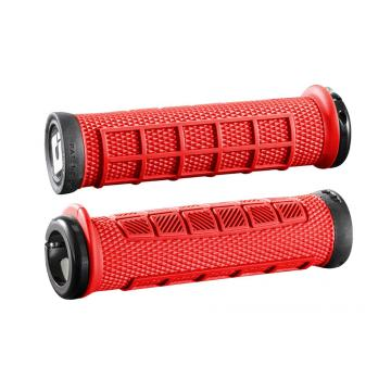ODI Elite PRO v2.1 Lock-On Grips - Red