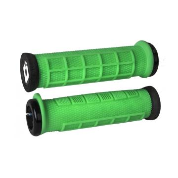 ODI Elite PRO v2.1 Lock-On Grips - Retro Green/Black