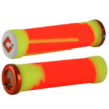 ODI Aaron Gwin Signature AG-2 MTB Grips - ORANGE/YELLOW