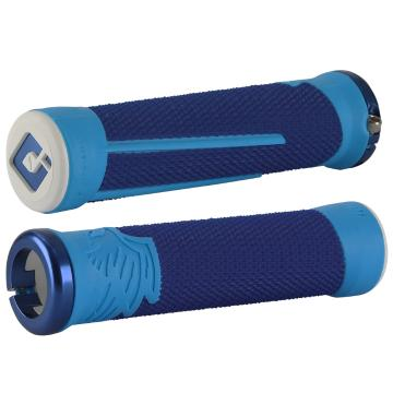 ODI Aaron Gwin Signature AG-2 MTB Grips - BLUE/LIGHT BLUE