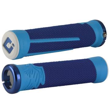 ODI Aaron Gwin Signature AG-2 MTB Grips - BLUE/LIGHT BLUE