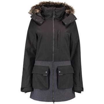 O'Neill 2021 Women's PW Onyx Snow Parka - Blackout