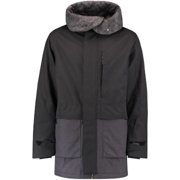 O'Neill 2021 Men's PM Xtrm Snow Parka - Blackout