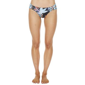 O'Neill Womens Bowfin Bikini Pant - Black Tropical
