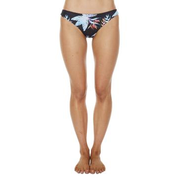 O'Neill Womens Island Bikini Pant - Black Tropical