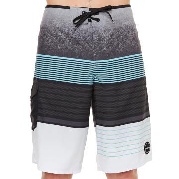 O'Neill Men's High Punts Boardshort - Grey Blue