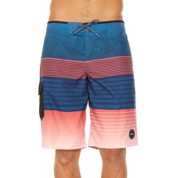 O'Neill Men's High Punts Boardshort - Red/Navy