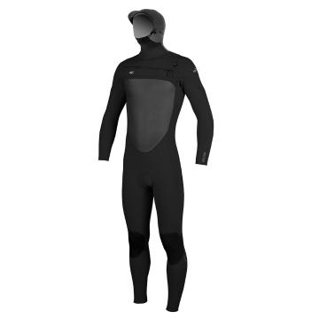 O'Neill 2017 Men's Superfreak F.U.Z.E. Zip 5/4mm Steamer Wetsuit - Blk/Blk/Blk