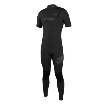 O'Neill Men's Hyperfreak 2mm Zipless Short Sleeve Comp Steamer Wetsuit  - Blk/Blk/Blk