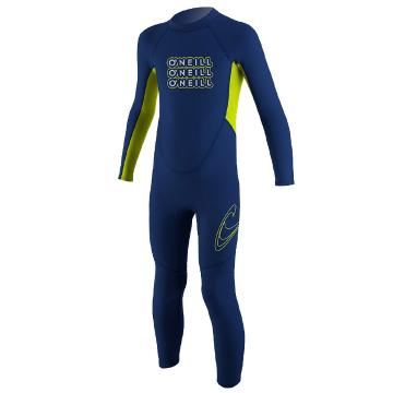 O'Neill Girl's Reactor 2mm Steamer Wetsuit - 1-6 Years