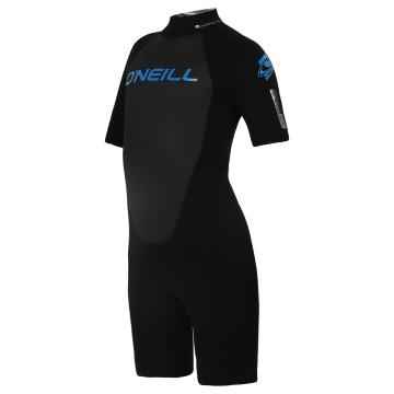 O'Neill Youth Reactor 2mm Spring Suit - Blk/Blk/Blk