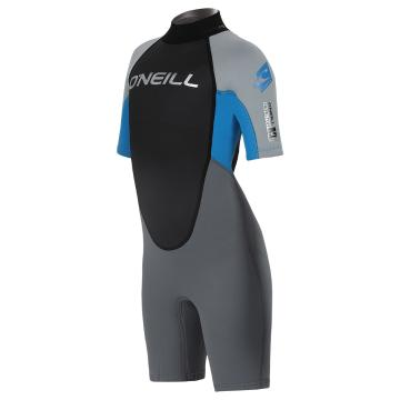 O'Neill Youth Reactor 2mm Spring Suit - SMOKE/C GREY/B BLUE