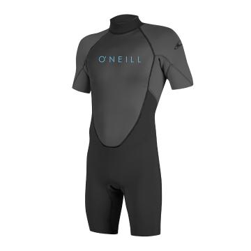 O'Neill 2021 Youth Reactor II 2mm Short Sleeve Spring - Black/Graph