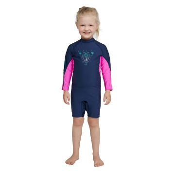 O'Neill 2021 Toddler Ozone Long Sleeve Spring - Blue/Pink