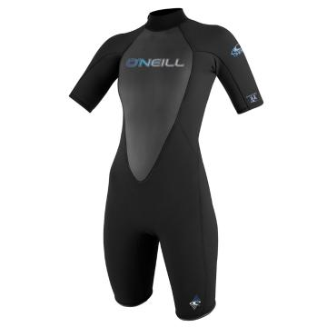 O'Neill Women's Reactor 2mm Spring Suit - Blk/Blk/Blk