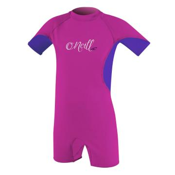 O'Neill Toddler's Ozone UV Rash Suit - Berry/Tahitnblu