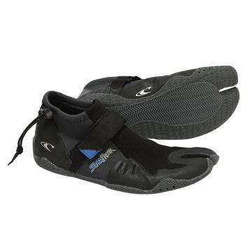 O'Neill Men's Superfreak Tropical Split Toe Boots - Black