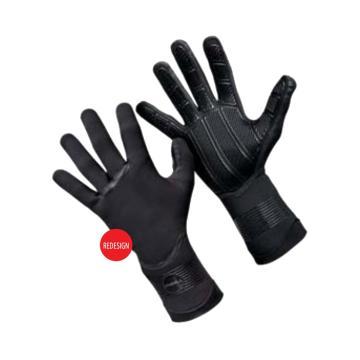 O'Neill Men's 1.5mm Psychotech Gloves - Black