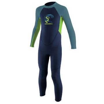 O'Neill Toddler Reactor Full 2mm - Nvy/DayGlo/DBlue