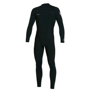 O'Neill Men's Defender Chest Zip Full 4/3mm Wetsuit - Blk/Blk/Blk