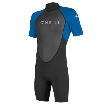 O'Neill Mens Reactor II 2MM SS Spring Suit - Black/Ocean